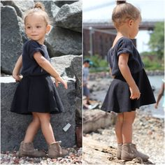 Professional rock collector.  #londonscout #littlegirlscout #postmyfashionkid #kidsfashionusa #fashionkids #stylishtoddler #zarababy #ruumkids #americanapparel