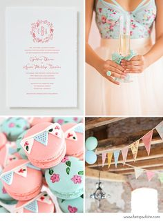 Shabby Chic Bridal Brunch | Flights of Fancy