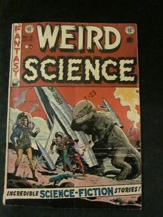 EC Comics from the 1950's like this Weird Science comic book contained some of the best art ever.  By artists like Wally Wood, Al Williamson, Feldstein, Evans, Davis and others.