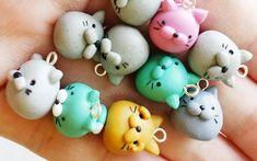 Chubby Cat Polymer Clay Tutorial