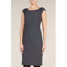 Buy Planet Shift Dress, Charcoal Online at johnlewis.com