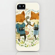 Fox Friends iPhone Case by Teagan White - $35.00