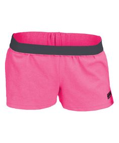 Pink & Black New Soffe Short by Soffe #zulily #zulilyfinds