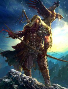 Winter Is Coming - Warriors Art through Andeavenor gallery