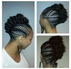 Iverson braids are named after NBA player Allen Iverson who was known for his cornrow hairstyles. Here's a quick tutorial plus 30 ways to wear Iverson braids. Box Braids Hairstyles, Braided Mohawk Hairstyles, Braided Hairstyles For Black Women, My Hairstyle, African Hairstyles, Goth Hairstyles, Teenage Hairstyles, Hairstyles 2016, Black Girl Braids