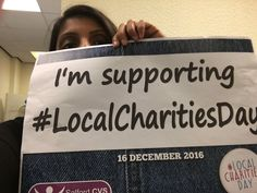 Development Team @DTeamSalfordCVS Development team are supporting #LocalCharitiesDay because local charities in Salford make a difference to local people in #salford