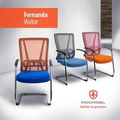 Porque tus clientes son los más importantes, bríndales la comodidad que merecen con Fernanda Visitor.