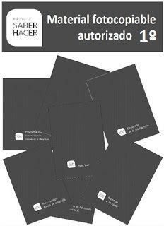 """EL BLOG DE PRIMERO 2: FICHAS FOTOCOPIABLES PROYECTO """"SABER HACER"""" DE SANTILLANA PARA 1º Maila, Bingo, Editorial, Cards Against Humanity, Teacher, Writing, Learning, Ideas, School"""