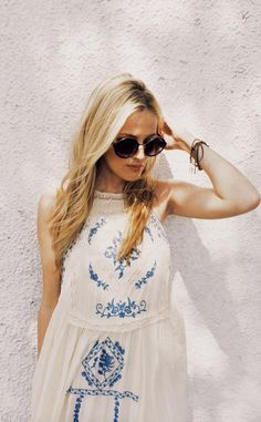 A simple, breezy dress perfect for a Cali summer
