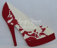 Shoe card | High Heel Shoe Card