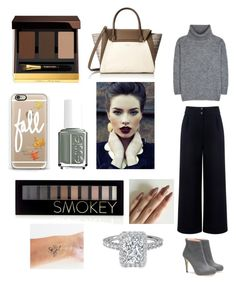 """""""Fall"""" by emmaraej on Polyvore featuring Tom Ford, Casetify, Essie, Vince Camuto, Yves Saint Laurent, Être Cécile and Forever 21"""