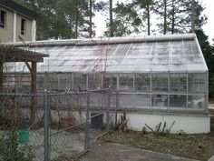 This is a picture of Georgia Southern's Biology building Greenhouse. Having a greenhouse makes this building green because it can produce its own plants and produce, even if it's not the proper growing season. Also, the more plants on the earth, more PalramGreenhouse.com