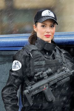 Romanian Armed Forces... member of the counter terrorism brigade,