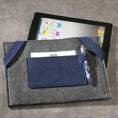 Air Light #iPad Sleeve $29.00 at #Levenger via Catalog Spree!