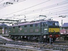 (later at Guide Bridge on July Built at the Metropolitan Vickers Gorton Works and delivered on May Withdrawn in June 1978 and cut up at C. Electric Locomotive, Diesel Locomotive, Steam Locomotive, E Electric, Electric Train, Third Rail, Rail Transport, British Rail, Old Trains