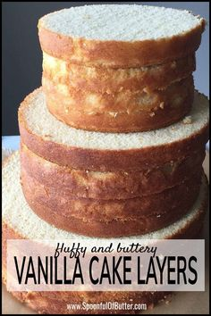 I used this to make a wedding cake and I could say this is the best homemade Vanilla Cake recipe! Made from scratch, moist, buttery and fluffy texture makes it a great base cake for all occasions. This recipe yields a tall vanilla cake. How To Make Wedding Cake, Diy Wedding Cake, Wedding Cake Flavors, Wedding Recipe, Homemade Wedding Cakes, Wedding Ideas, Base Cake, Homemade Vanilla Cake, Homemade Desserts