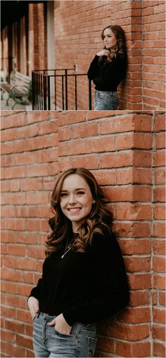 Boise Senior Photographer Makayla Madden Photography Downtown Boise Hyde Park Senior Session Senior Photography Urban Senior Picture Ideas Fun Senior Pics Senior Girl Outfit Ideas Inspiration Sassy Portrait Poses Fall Winter Senior Pictures