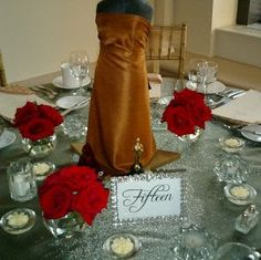 Hooray for Hollywood ~ Academy Awards/Movie Parties ~ beautiful table inspiration ~ www.meandmyinsanity.com