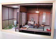 Miniature Japanese Roombox