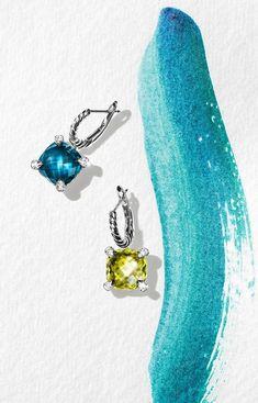 Chatelaine Drop Earrings with Diamonds Jewelry Ads, Photo Jewelry, Women Jewelry, Fashion Jewelry, Jewelry Design, Women's Fashion, Crystal Jewelry, Gold Jewelry, Jewelery