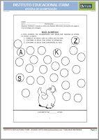 APOSTILA PARA ALFABETIZAÇÃO Bullet Journal, Math Activities, Learning, Early Education