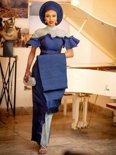 Ankara Dress Styles, African Lace Dresses, African Fashion Dresses, Ankara Fashion, Nigerian Outfits, Nigerian Bride, Nigerian Clothing, Nigerian Wedding Dresses Traditional, Traditional Wedding Attire