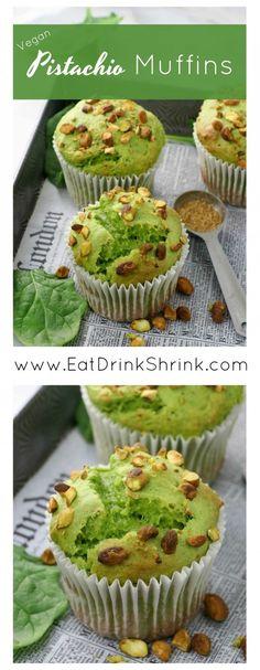 Vegan Pistachio Muffins Vegan Cake vegan cake using aquafaba Muffin Recipes, Cake Recipes, Vegan Recipes, Dessert Recipes, Dinner Recipes, Cake Vegan, Vegan Cupcakes, Desserts Végétaliens, Health Desserts