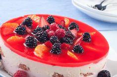 Nepečená tvarohová torta