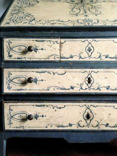 Mobili decorati, mobili decapati e mobili shabby chic @ Barbara Maldini | Decorazioni d'interni per Decorette Srl
