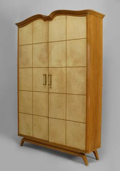 A Pair Of Wardrobe Cabinets By Rudolf Vichr | Wardrobe Cabinets, Armoires  And Furniture Storage