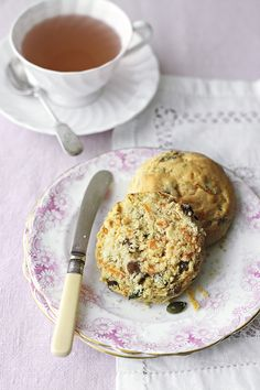 Scones don't have to be unhealthy; these deliciously sweet carrot and sultana scones are perfect for a mid-morning snack or served with a warm cup of tea. Find this recipe for carrot and sultana scones at waitrose.com/recipes