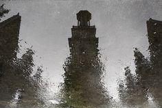 Aegidienkirche in einer Spiegelung