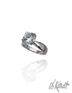 Courtney's Engagement Ring   18Karat