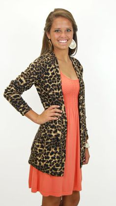 Because who doesn't need a leopard cardigan!!  #thebluedoor