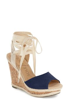 Sole Society 'Sena' Espadrille Wedge (Women) available at #Nordstrom