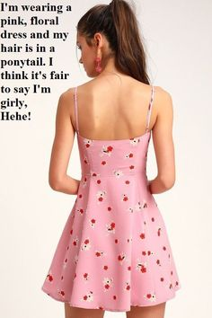 You'll be feeling lighthearted and lovely in the Lulus Blithe Pink Floral Print Skater Dress! Flirty floral print skater dress with a square neck and mini hem. Dress Outfits, Casual Dresses, Casual Outfits, Skater Dress, Dress Up, Little Girl Models, Full Skirts, Girly Girl, Pretty Dresses