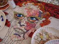 Karen Sasine's part, mosaic marathon  09 by Linda Vaden-Martin (aka perceptual enigma), via Flickr