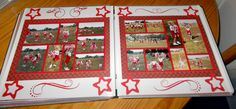 Cheerleading Scrapbook Layout Ideas | Products Used: No products specified.