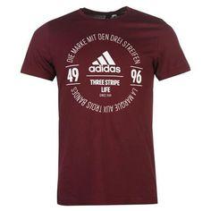 adidas   adidas Essential Circle Logo T Shirt Mens   Mens T Shirts