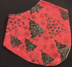 A personal favorite from my Etsy shop https://www.etsy.com/listing/215330922/christmas-trees-bandana-bib-green-red