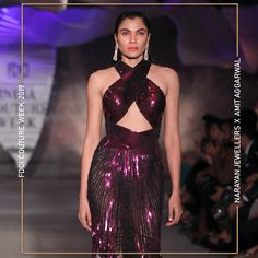 """Narayan Jewellers delightfully launched the new bridal collection in association with ace Designer Amit Aggarwal for """"Lumen"""" Couture 2019 at FDCI. Strapless Dress Formal, Formal Dresses, Bridal Collection, Fashion Show, Product Launch, Jewels, Couture, Design, Formal Gowns"""