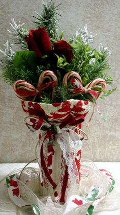Center piece for holiday tables.
