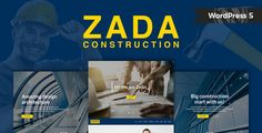 Buy Zada - Construction WordPress Theme by modeltheme on ThemeForest. Want to create and incredible Construction WordPress website? Sick of testing and evaluating themes? Choose the ONE .