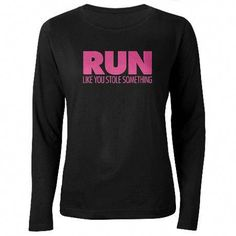 Drawing Woman Run Like You Stole Something Long Sleeve T-Shirt - How To Become Happy, Nursing School Prerequisites, Online Nursing Schools, Woman Drawing, Tech Gifts, Running Women, Happy Life, Female Bodies, Like You