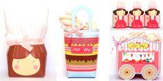 Caixinhas super originais para incrementar a decoração da festa mini chef!
