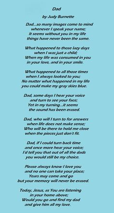 This will be the first Fathers Day without my dad :-( Wish I could tell you Happy Fathers Day Dad. Love and miss you very much!!!
