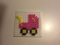 Hama beads baby carriage