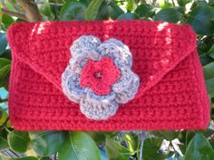 Check out this item in my Etsy shop https://www.etsy.com/uk/listing/452362572/hand-crocheted-clutch-bag-in-in-red-and