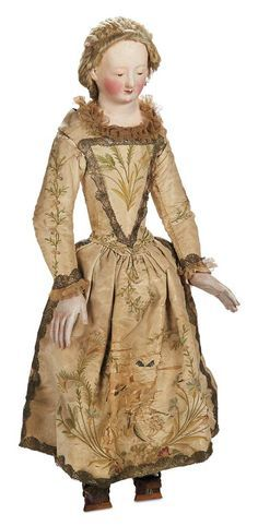 antique patina on paper mache doll - Google Search