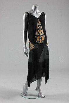 Madeleine Vionnet evening gown, model 4113, Spring-Summer, 1925